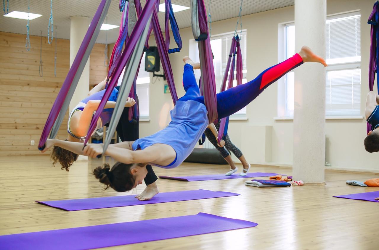 Можно ли похудеть на йоге в гамаках